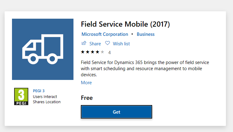 microsoft dynamics crm mobile application