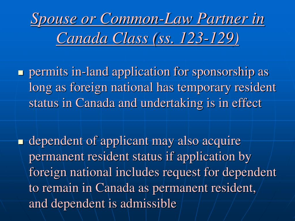 application for permanent residence outside canada