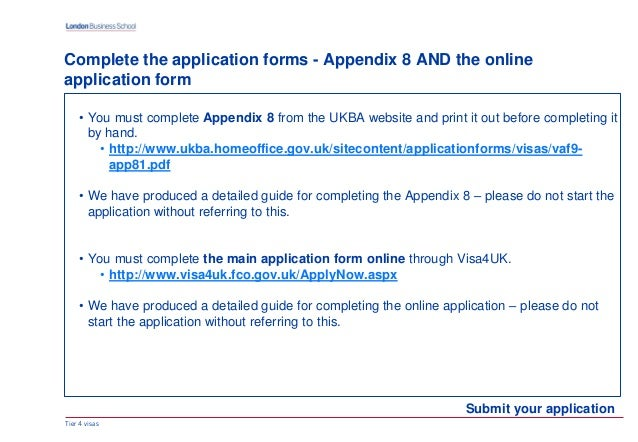 uk tier 4 visa application form