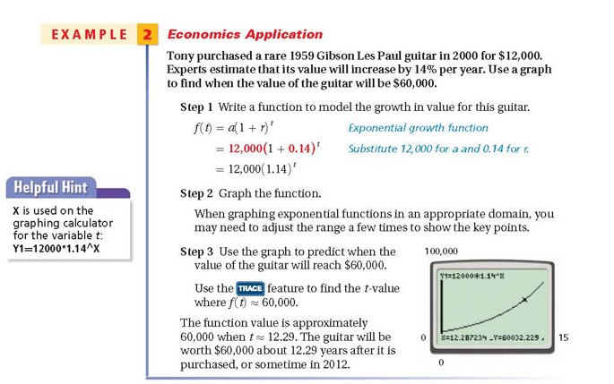 exponential growth and decay applications