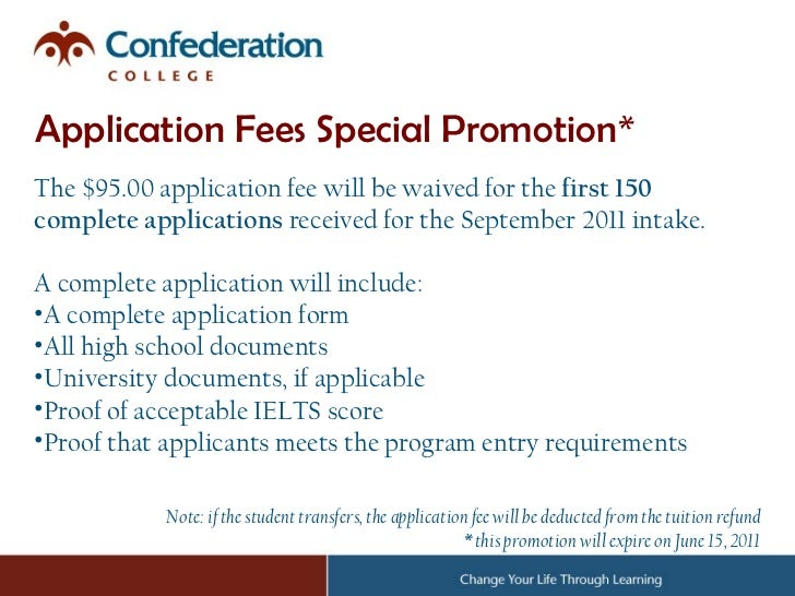 cape breton university application fee