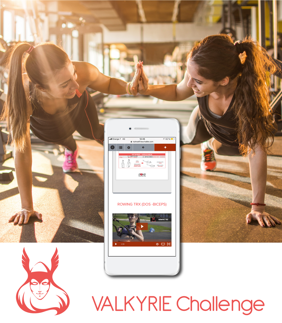 30 jours fitness challenge application