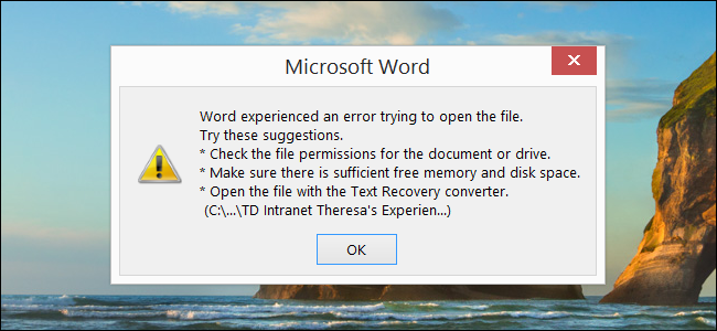 the application microsoft word can t be opened mac