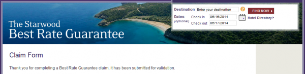 expedia best price guarantee application form