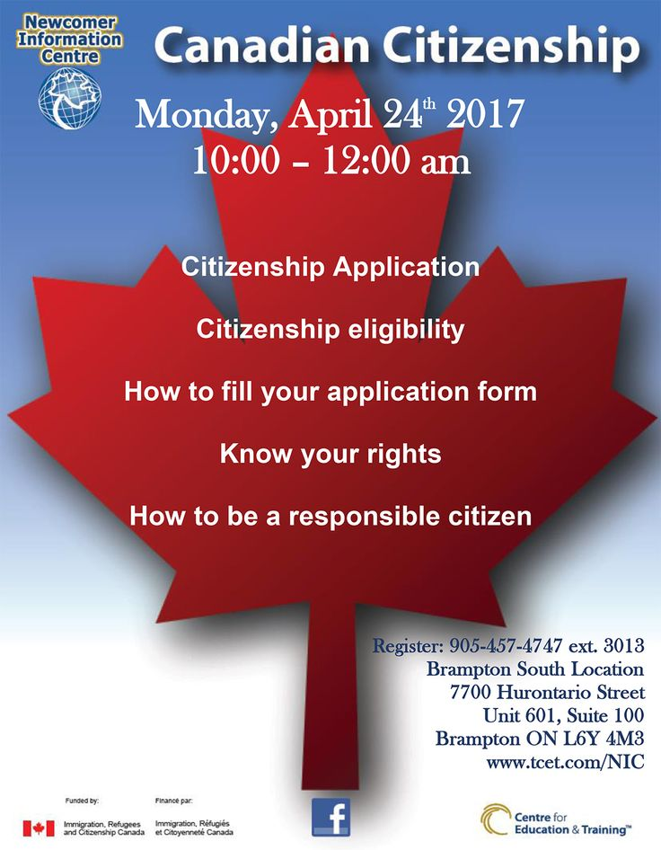 document checklist application for canadian citizenship