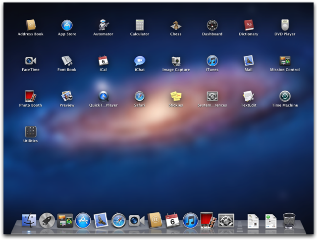 where is applications on macbook air