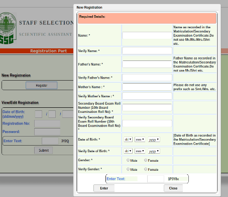 visible distinguishing mark in passport application