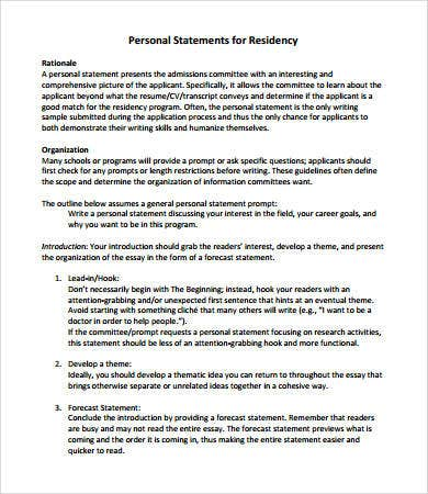 how to write a personal statement for scholarship application