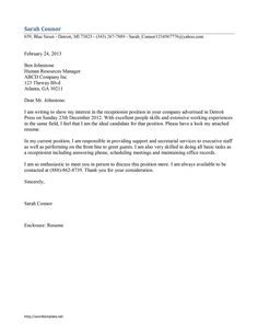 cover letter for late job application