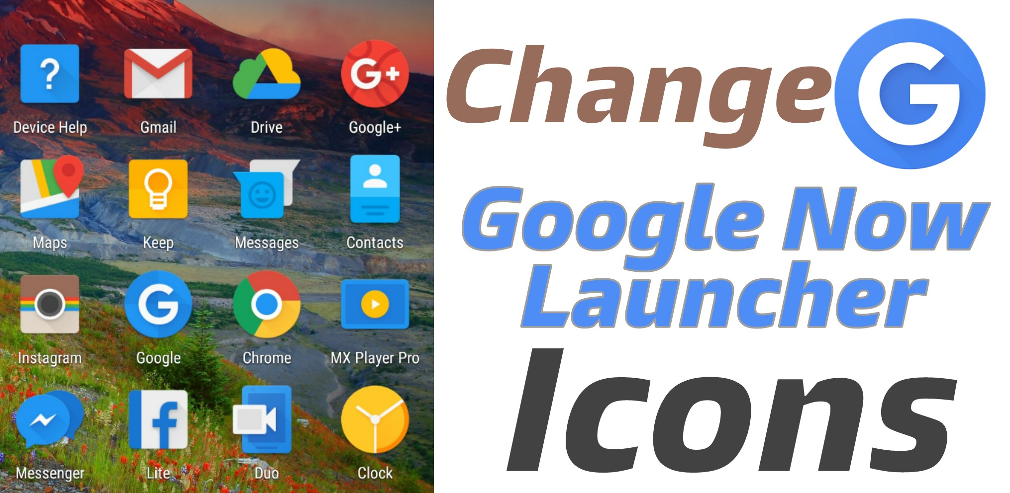 how to change application icon