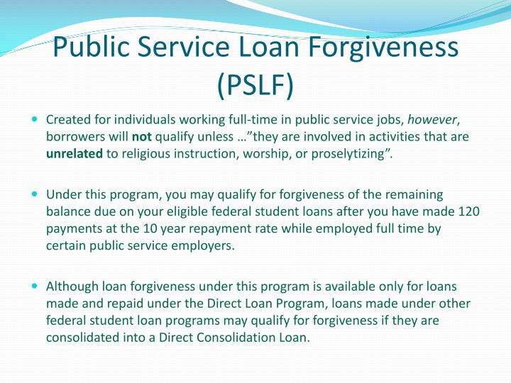 federal direct consolidation loan application