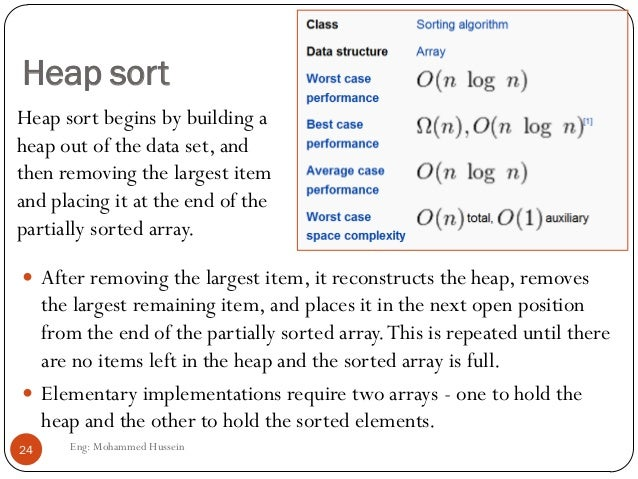 applications of sorting in data structure