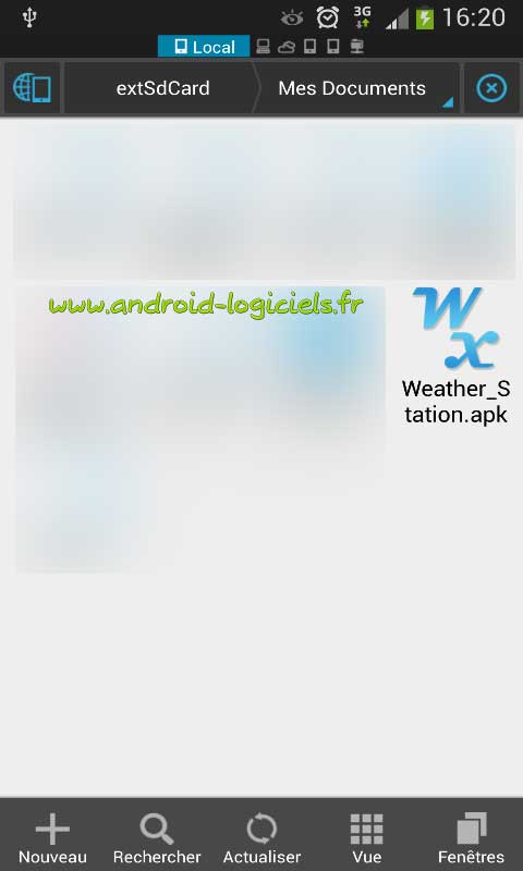 android impossible d installer l application