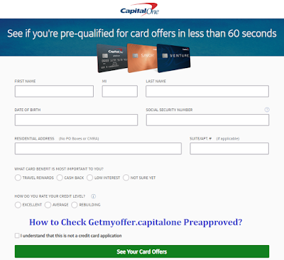capital one credit card application process