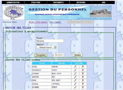 conception et realisation d une application de gestion