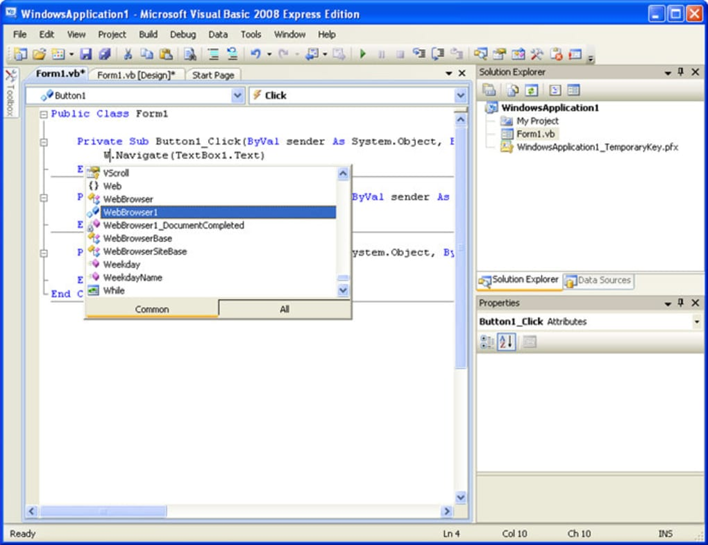 microsoft visual basic for applications download free