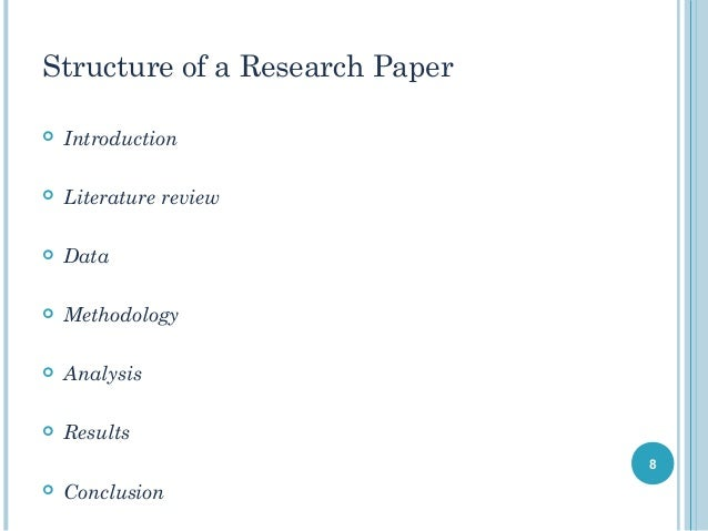 How to write an economics paper
