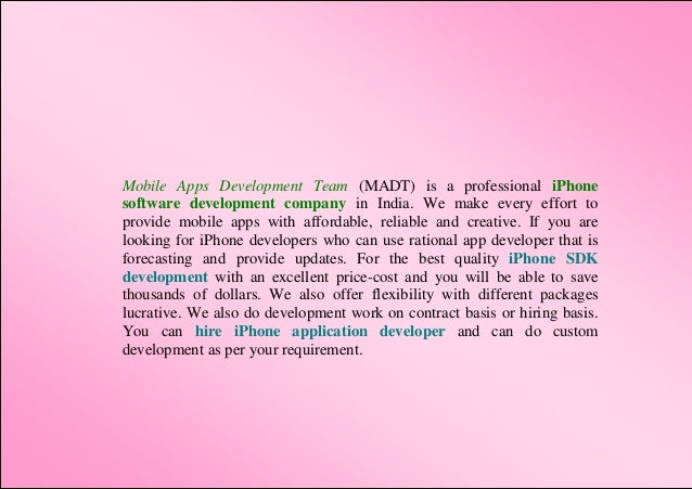 mobile application developer education requirements