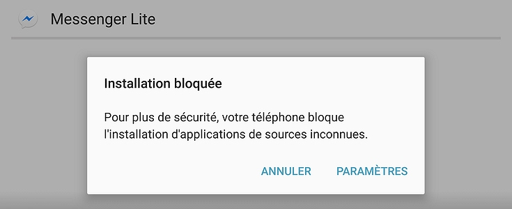 telecharger et installer application android